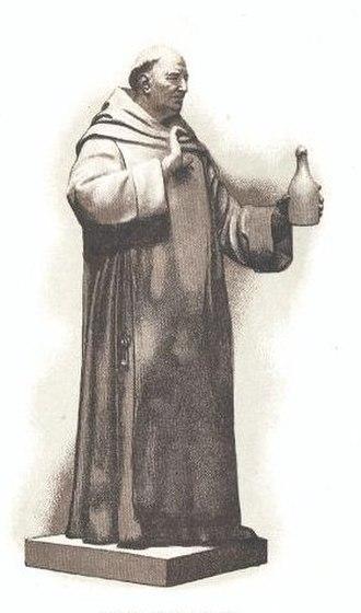 Dom Pérignon - Dom Pierre Pérignon, a Benedictine monk