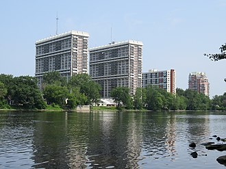Laval, Quebec - Laval seen from the Rivière des Prairies