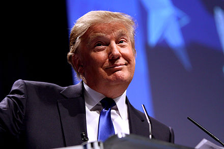 Donald Trump, From WikimediaPhotos