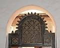 Doorway leading to main courtyard at the Ben Youssef Madrassa, Marrakech, Morocco - panoramio.jpg