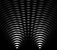 I.A. sur les réseaux sociaux et dans les forums - Page 2 200px-Double_slit_simulated_2