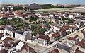 Douchy-les-Mines - Fosse Boca, photochrome d'une vue aérienne.jpg