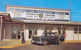 1607th Air Transport Wing - 1607th Air Transport Wing Operations Center, about 1960