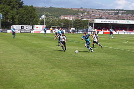Dover Athletic FC tegen Wycombe Wanderers FC in 2009
