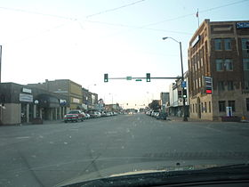 خط الأفق لـ City of Huron, South Dakota