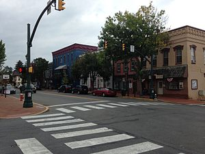 Selinsgrove, Pennsylvania - Downtown Market Street, looking northeast in Selinsgrove