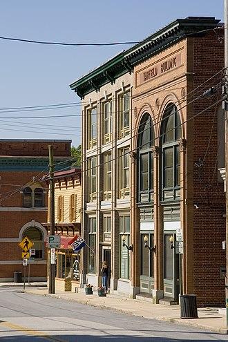 Sykesville, Maryland - Image: Downtown Sykesville