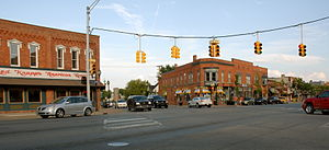 Oxford, Michigan - Image: Downtownoxford 2