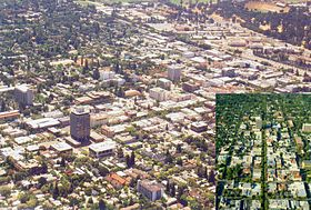 Skyline of Palo Alto