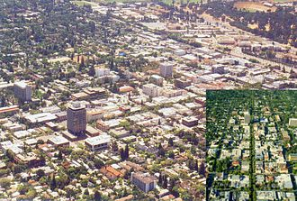 Palo Alto, California - Downtown Palo Alto in 2005