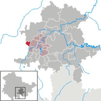 Dröbischau - Image: Dröbischau in SLF