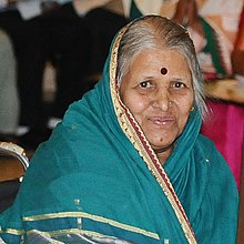 Dr. Sindhutai Sapkal, Pune on International Women's Day 2017 (cropped).jpg
