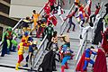 Dragon Con 2013 - JLA vs Avengers Shoot (9671485130).jpg