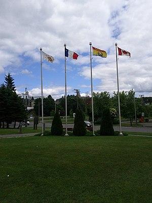 Republic of Madawaska - Image: Drapeaux Madawaska
