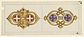 "Drawing, Two Designs for Brooches in the ""Byzantine"" Style, 1860–65 (CH 18548195).jpg"