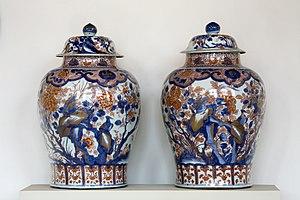 Imari ware - Chinese Imari porcelain vases of the Kangxi period (1662-1722), Qing Dynasty