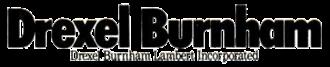 Drexel Burnham Lambert - Drexel Burnham logo