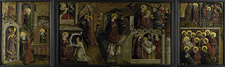 Triptych with Scenes from the Life of the Virgin