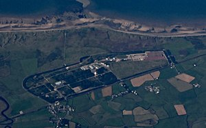 Low Level Waste Repository - Drigg Low Level Waste Repository from the air