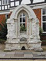 Drinking fountain outside former Hertford Library.jpg