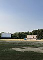 Drive-In Theater, Screen and Concession Stand.jpg