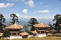 Druk Wangyal Chortens at Dochula on Thimphu-Punakha HighwayBhutan - panoramio.jpg