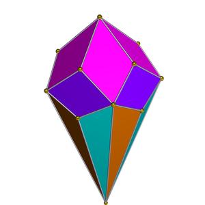 Pentagonal rotunda - Image: Dual pentagonal rotunda
