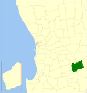 Dumbleyung, Western Australia - Image: Dumbleyung LGA WA
