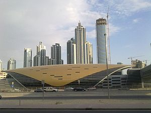 Business Bay - Dubai Metro Station of Business Bay