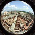 Dynamotion Hall Under Construction - Science City - Calcutta 1996-05-06 844.JPG