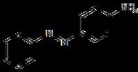 Strukturformel von Anilingelb