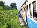 E8675-Thai-schoolchildren-board-train.jpg