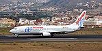 EC-LQX - Air Europa - Boeing 737-800 (37140958741).jpg