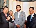 ENG, Khaled K. El-Hamedi listened to the late leader Chávez and the Brazilian President Désilvia.jpg