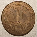 EUROPEAN ARCHITECTURAL YEAR -STONEHENGE MEDALLION 1975 a - Flickr - woody1778a.jpg