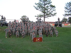 Ocala Rifles - Troop E, circa 2005-06 before the unit deployed to Afghanistan.