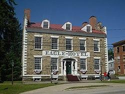 Eagle Hotel Waterford Pennsylvania Jpg