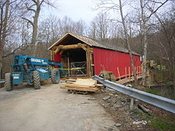 Eagleville Covered Bridge May 07.jpg