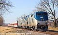 Eastbound Talgo Special in Shawnee, Kansas (1), February 2018.jpg