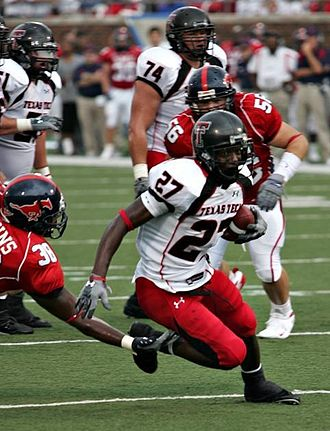 Texas Tech University - Red Raiders in action in 2007