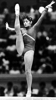 Ecaterina Szabo artistic gymnast