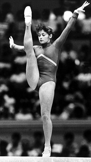 Ecaterina Szabo - Szabo in 1985