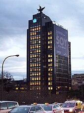 Edificio La Unión y el Fénix, Madrid (1965-1971)
