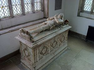 Edward Stafford, 2nd Earl of Wiltshire - Tomb of Edward Stafford, Earl of Wiltshire, in St Peter's Church, Lowick