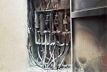 Nfpa 70e wikipedia la enciclopedia libre for Subida de tension electrica