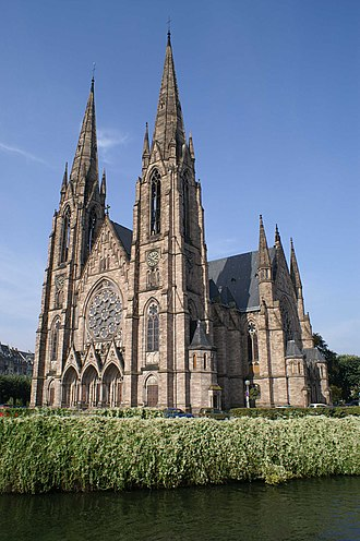 St. Paul's Church (Strasbourg) - Image: Eglise St Paul Strasbourg