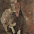 Egon Schiele - Self-Seer II (Death and Man) - Google Art Project.jpg