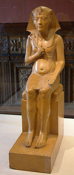 Egypte louvre 172 pharaon
