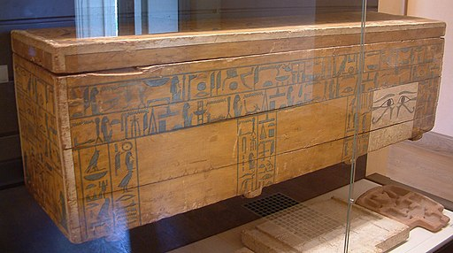 Egypte louvre 324 sarcophage