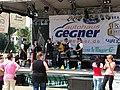 Eilenburg 1050-Jahrfeier Pub-Buehne Dudelsackmusik3.jpg